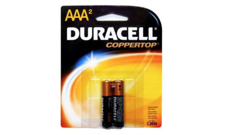 {Duracell Carded Batteries }