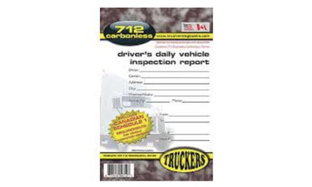 {Truckers Log, Inspection Books}