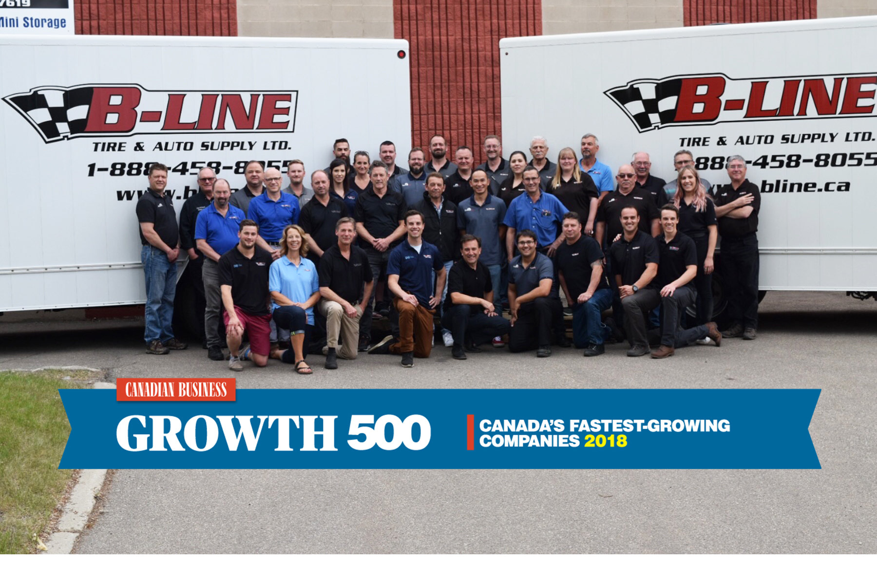 Proud to be one of Canada's Fastest-Growing Companies