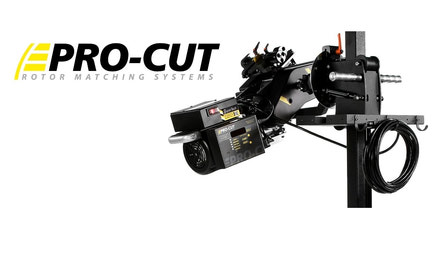 Pro-Cut on Car Brake Lathes