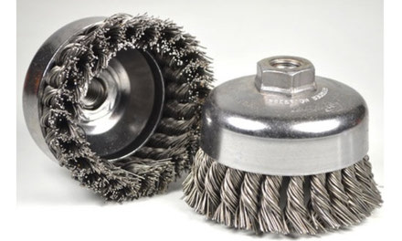 {Wire Brushes & Abrasives}