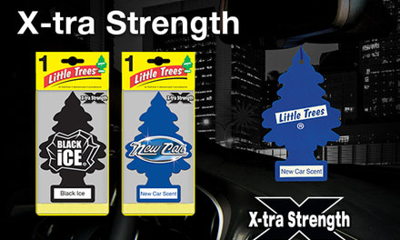 Little Tree Fresheners X-tra Strength